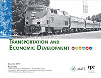Transportation and Economic Development Plan cover