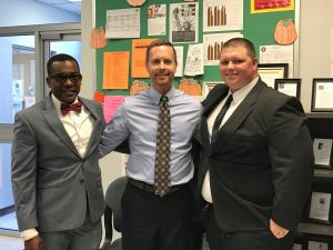 RPC CEO Dalitso Sulamoyo, U.S. Congressman Rodney Davis, and Head Start parent and Policy Council member Kyle Hubert
