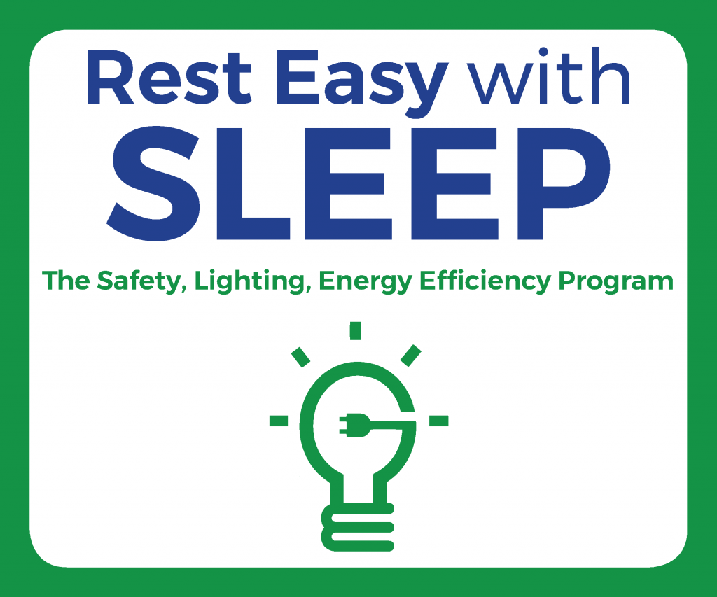 The logo for the SLEEP program