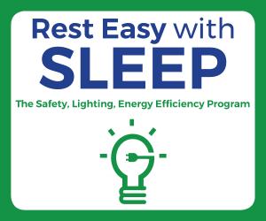 The logo for the SLEEP program