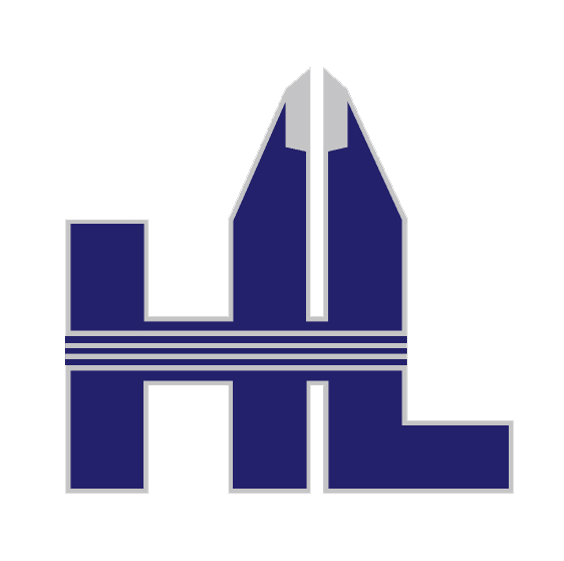 The HL Precision Manufacturing logo