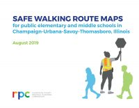 The cover of the Safe Walking Route Maps book