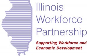 The logo for the Illinois Workforce Partnership