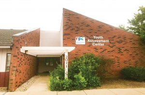 The front of the Youth Assessment Center in Champaign