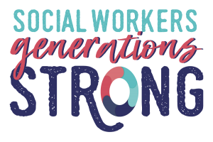 The 2020 Social Work Month logo