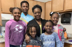 Asia Williams and her family