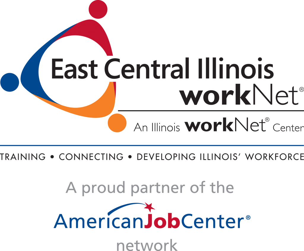 The East Central Illinois workNet logo