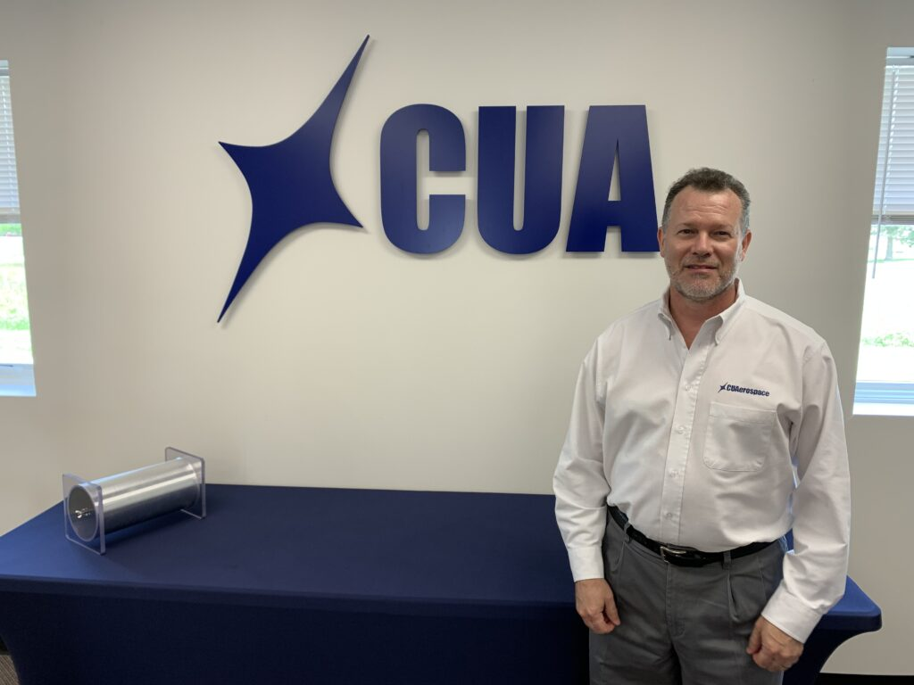 CU Aerospace co-founder and President David Carroll