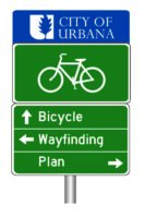 Urbana Bicycle Wayfinding Master Plan logo