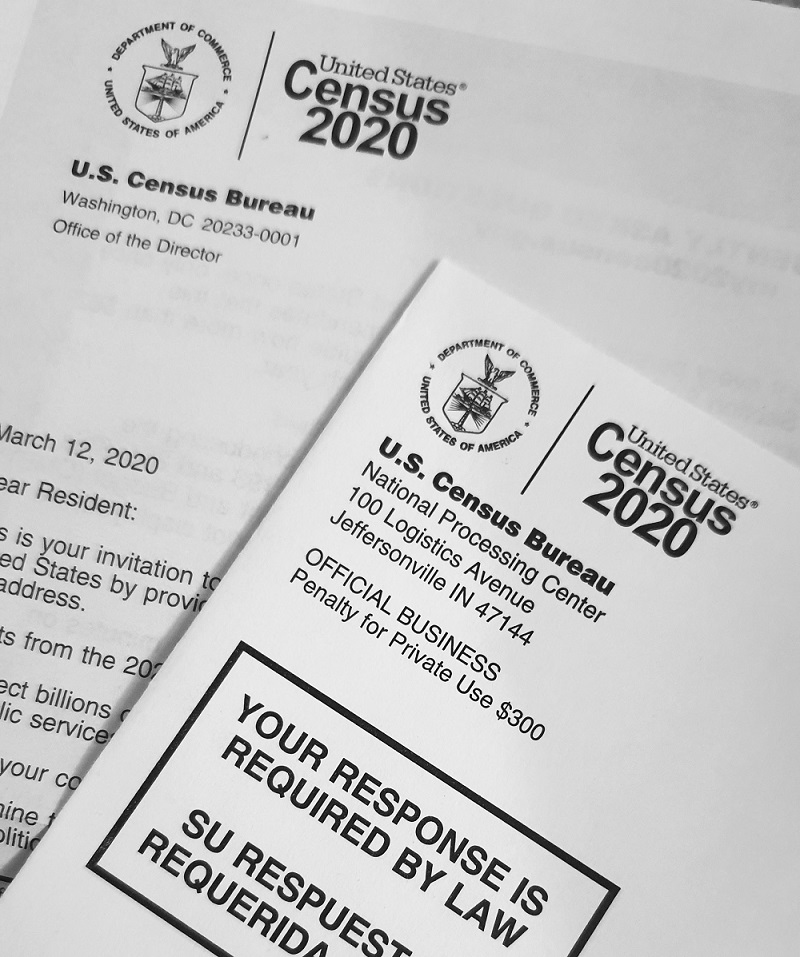 The U.S. Census form