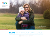 The cover of the 2020 RPC annual report