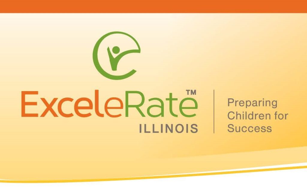 The ExceleRate Illinois logo