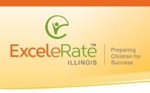 The ExceleRate Illinois logo