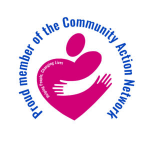 The Community Action Network national logo