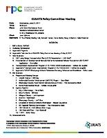 Policy Agenda 062117
