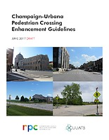 Champaign-Urbana Pedestrian Crossing Enhancement Guidelines