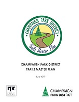 Champaign Park District Trails Master Plan