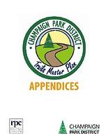 Champaign Park District Trails Master Plan Appendices