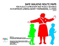 2017 Champaign-Urbana area Safe Walking Route Maps Book