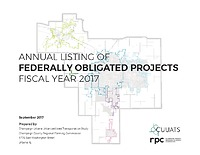 Federally Obligated Projects: FY2017