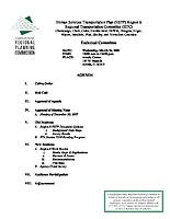 March 26, 2008 HSTP Agenda