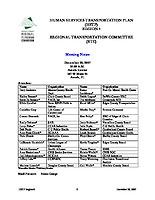 December 20, 2007 HSTP Minutes