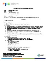 April 11, 2018 CUUATS Policy Committee Meeting Packet