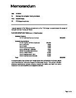 7) Budget Amendments
