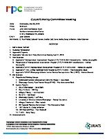 May 2, 2018 CUUATS Policy Committee Meeting Packet