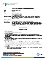 April 4, 2018 CUUATS Technical Committee Meeting Approved Minutes