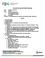June 20, 2018 CUUATS Policy Committee Meeting Agenda