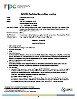 May 2, 2018 CUUATS Technical Committee Approved Minutes
