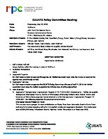May 2, 2018 CUUATS Policy Committee Meeting Approved Minutes