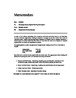 11) Head Start ADA Supplemental Funding Request