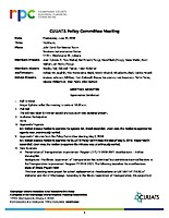 CUUATS Policy Committee Approved Minutes 06-20-2018