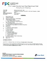 June 25, 2018 Policy Council Meeting