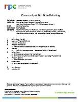 2018.10.11 CAB Agenda