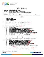 RPC Meeting Agenda 102618