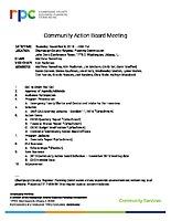 2018.11.08 CAB Agenda