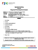 Special Meeting – 112918
