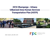 Champaign-Urbana Urbanized Area HSTP 2018