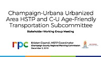 12-05-2018 C-U Urbanized Area Presentation