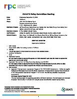 September 12, 2018 CUUATS Policy Committee Approved Minutes