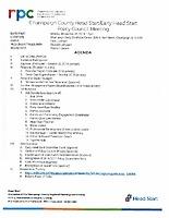 November 26, 2018 Policy Council Materials
