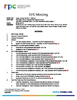 RPC Meeting Agenda 012519