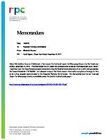11) Audit Memo 2017