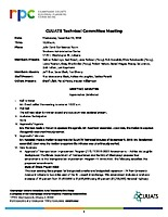 December 5, 2018 CUUATS Technical Committee Approved Minutes