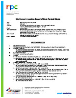 March 20, 2019 Workforce Innovation Board Meeting Minutes