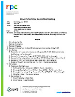 June 12, 2019 CUUATS Technical Committee Meeting Agenda