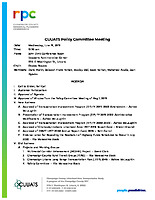 June 19, 2019  CUUATS Policy Committee Meeting Agenda